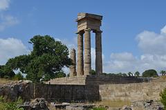 Rhodes, Acropolis Hill, Remains of Apollo's Temple