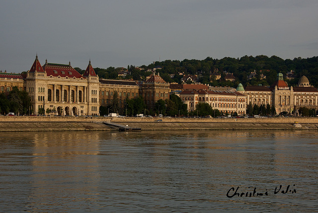 at the side of the River Danube