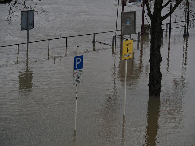 No tickets on rainy days!