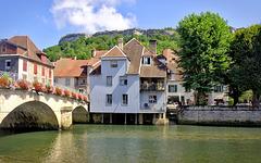 Ornans, Franche-Comté, France - 2013-08-04