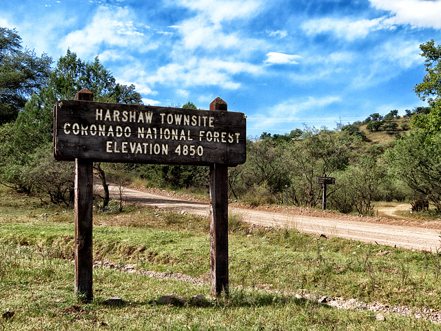 Harshaw Townsite