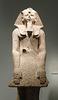 Detail of a Statue of Hatshepsut in a Devotional Attitude in the Metropolitan Museum of Art, September 2018