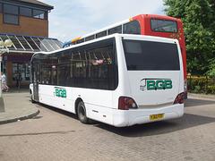 DSCF4542 Big Green Bus Company YJ62 FZF in Newmarket bus station - 22 Jul 2016