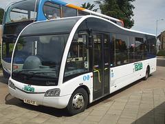 DSCF4540  Big Green Bus Company YJ62 FZF in Newmarket bus station - 22 Jul 2016