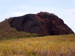 Volcanic mount.