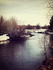 A vintage river