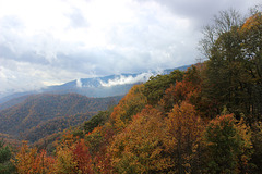 Between Cherokee, North Carolina  and Gatlinburg, Tennessee  ~~  USA