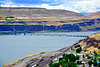 USA 2016 – Columbia River Gorge – View of the railway bridge near the former Celilo Falls