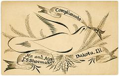 Mr. and Mrs. J. S. Shoemaker, Dakota, Illinois