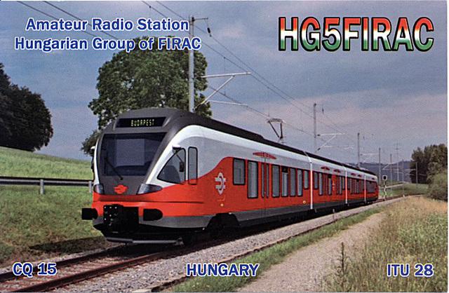 QSL HG5FIRAC