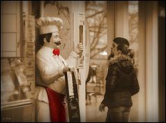 Hier kocht der Chef, kommen sie trotzdem rein! - Here's cooking the chef, come in anyway! (◕‿-)