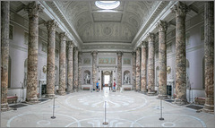 The marble hall - Kedleston - Derby.