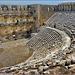 Manavgat : visione totale del grande antico teatro di Aspendos