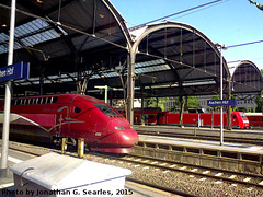 Aachen Hbf, Edited Version, Aachen, Nordrhein-Westfalen, Germany, 2015