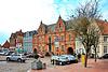 Glückstadt, Marktplatz mit Rathaus