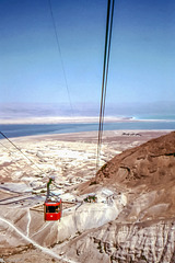 The Dead Sea from Massada - Oct. 1975 (135°)