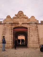 Gate of outer wall.