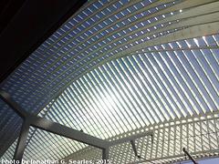Liege-Guillemins Station Roof, Liege, Belgium, 2015