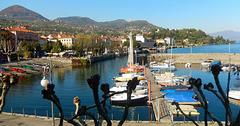 Verbania Intra - Il vecchio porto.