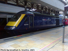 FGW #43134 in London Paddington, Edited Version, London, England (UK), 2015