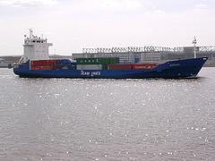Feeder-Containerschiff  BARBARA