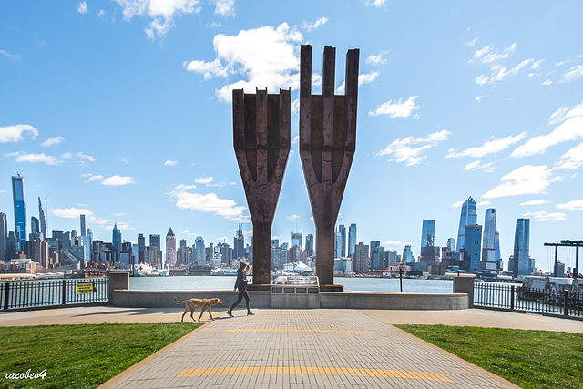 Steel Tridents Salvaged from the World Trade Center Honor Victims and Heroes of 9-11