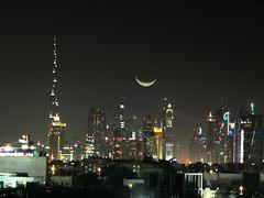 Nacht über Dubai... Night over Dubai... ©UdoSm