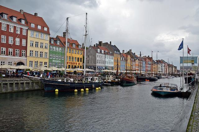 Im alten Hafen in Kopenhagen