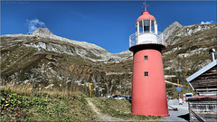 Der höchstgelegene Leuchtturm Europas.