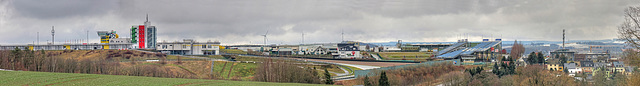 """(041/365) Blick zum """"Sachsenring"""" (panoramic)"""