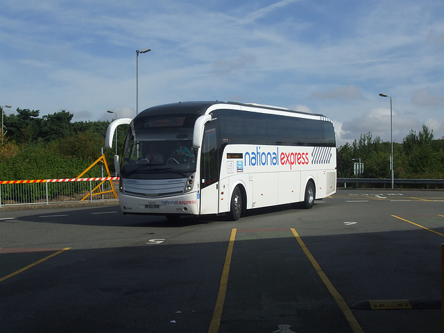 DSCF4918 Stagecoach Yorkshire BF63 ZRR (National Express contractor) at Milton Keynes - 1 Sep 2016