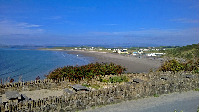 Die Bank in Rossnowlagh, County Donegal, Irland
