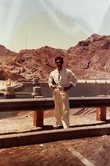 Hoover Dam, Colorado River, Las Vegas, 1985