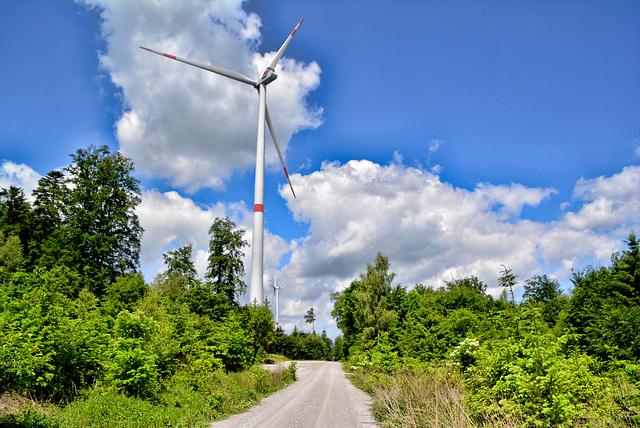 Windpark Kohlenstraße Limpurgen Bergen