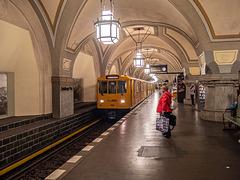 "Subway ""Heidelberger Platz"", Berlin"