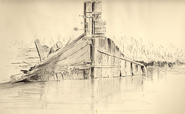 """Last of the Thames Barge """"May"""""""