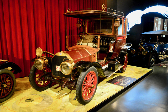 Turin 2017 – Museo Nazionale dell'Automobile – 1909 Isotta Fraschini AN 20/30 HP