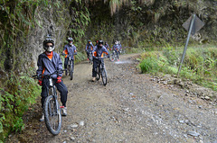 Bolivia, North Yungas Road (Death Road), Ready to Continue the Trip