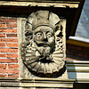 Woerden 2017 – Ornamental head on the former City Hall