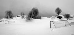 football field at rest