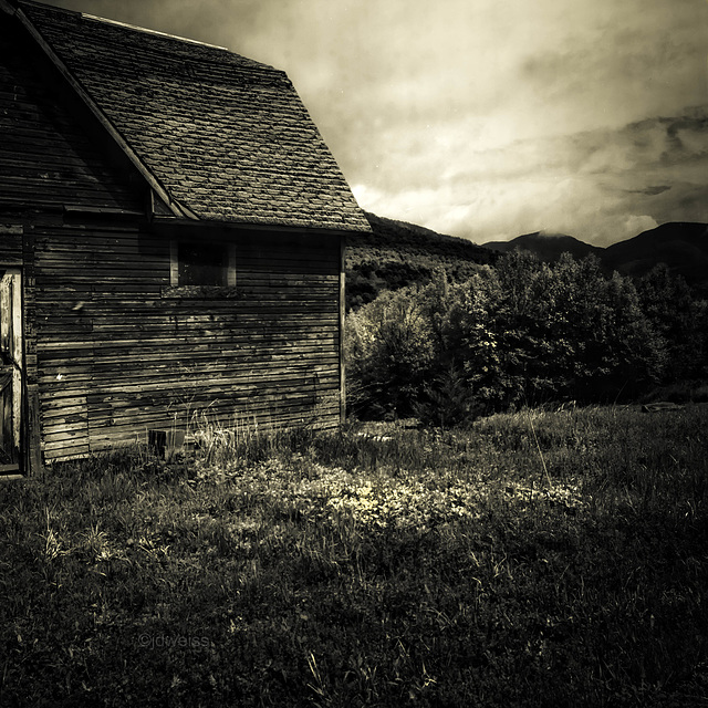 barn at the top of the mountain