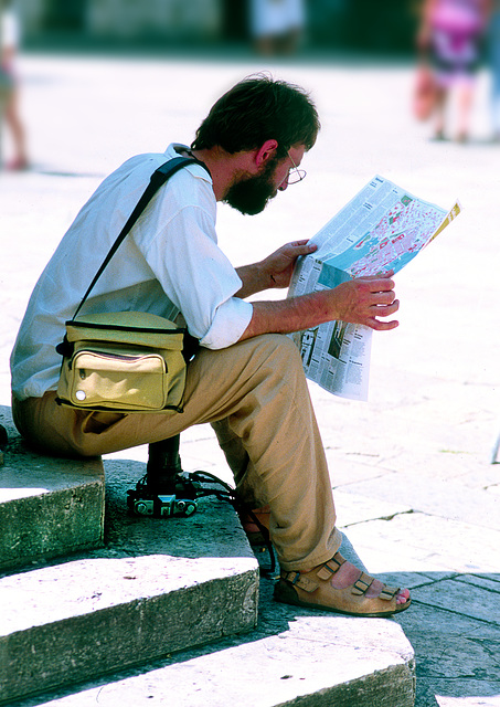 """""""Reading The Map"""""""