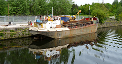 Grain Carrier 'Loach'- Recovered After Sinking