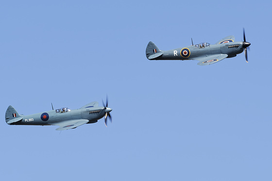 Pair of Supermarine Spitfire PR Mk XIs