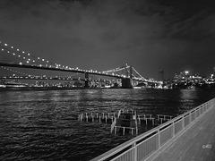 Der Zaun in New York - Lichter der Großstadt