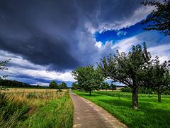 Unwetter im Anmarsch / Rainstorm Approaching (060°)