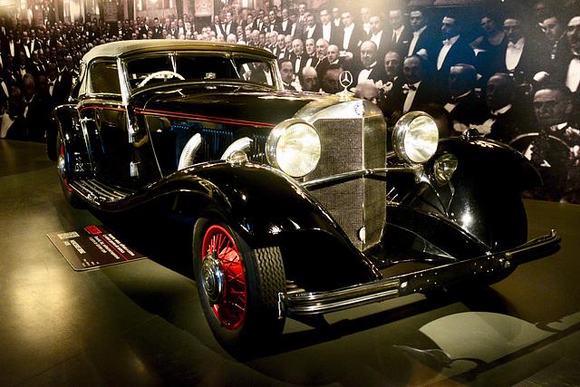 Turin 2017 – Museo Nazionale dell'Automobile – 1936 Mercedes-Benz 540K