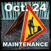 24th OCTOBER 2018 = maintenance on Ipernity