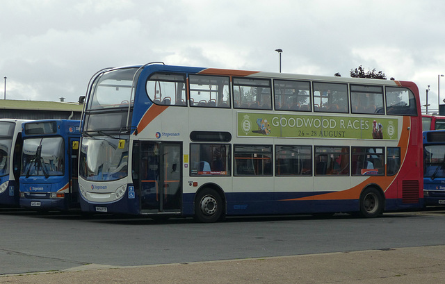 Stagecoach 19077 at Walton Road - 28 August 2016