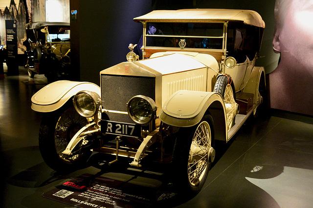 Turin 2017 – Museo Nazionale dell'Automobile – 1914 Rolls-Royce 40/50 HP